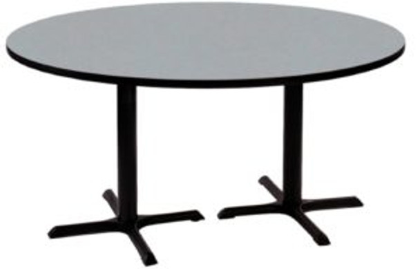 Correll BCT60R High Pressure Café and Breakroom Table 60 Inch Diameter Fixed Height