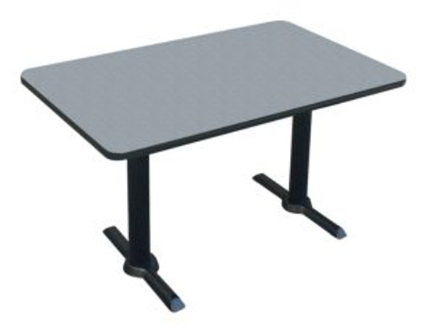 Correll BTT3060 High Pressure Café and Breakroom Table 30 W x 60 L Fixed Height