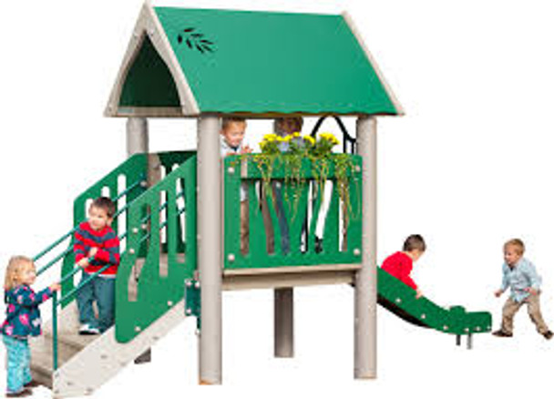 UltraPLAY EC-201 Wood Tot Town