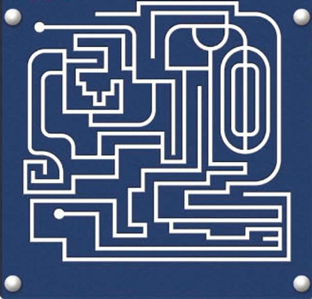 UltraPLAY EC-043 Wood Finger Maze Panel