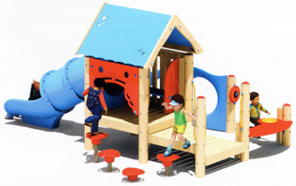 UltraPLAY EC-400 Wood Hideaway