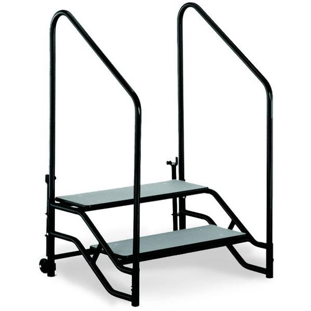 Midwest TST2 TransFold Portable Step Unit Two Steps 36 x 27