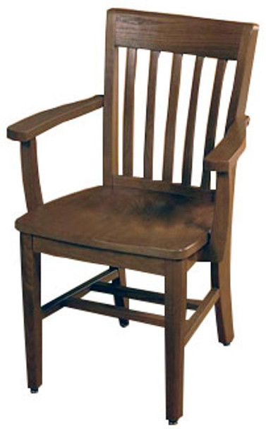 KI CrossRoads CRCHRA18 Wood Arm Chair 18 inch Seat Height