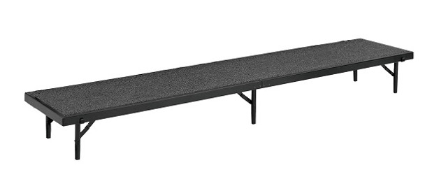 National Public Seating RS16C Straight Risers with Carpet