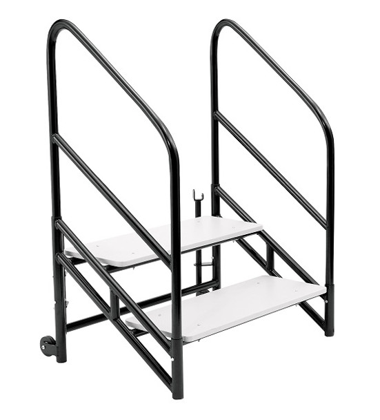 National Public Seating STP24 Steps for 24 inch Height Stages
