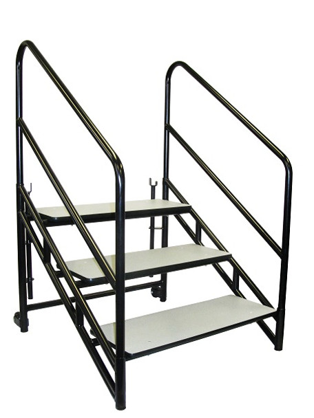 National Public Seating STP32 Steps for 32 inch Height Stages