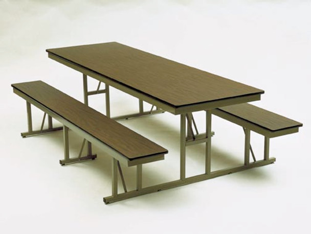 Barricks NB-5-30-P 30 x 60 Rectangular Cafeteria Table