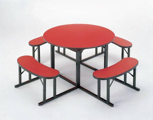 Barricks NBR-48 48 inch Round Cafeteria Table