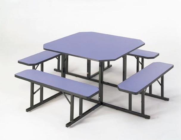 Barricks NBS-48 48 x 48 Sqaure Cafeteria Table