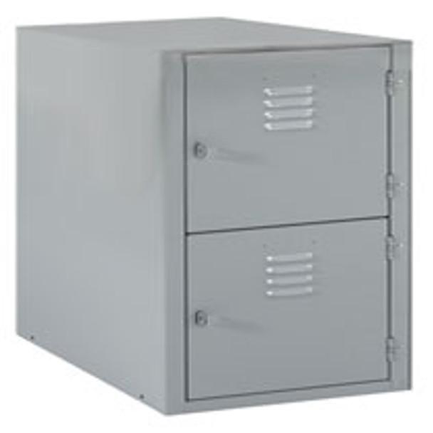 Shain LB-B2 Locker Base with Two Horizontal Lockers