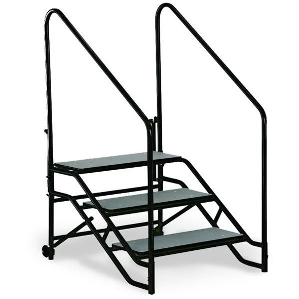 ST3 Portable Step Unit Three Steps with Hand Rails
