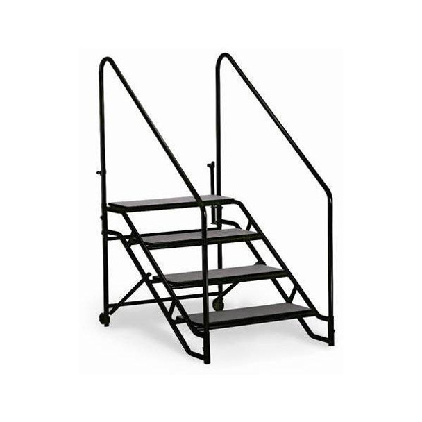 ST4 Portable Step Unit Four Steps with Handrails