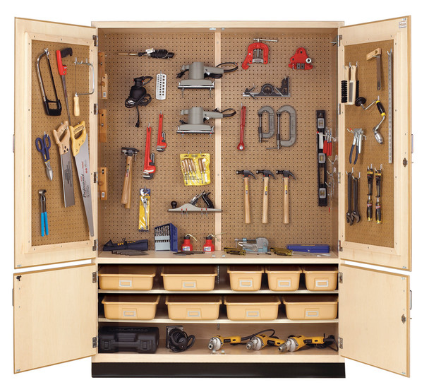 Diversifed TC-12WT General Tool Storage Cabinet with Tools