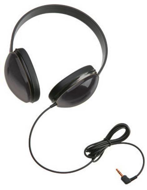 Califone 2800-BKP Listening First Stereo Headphones Black