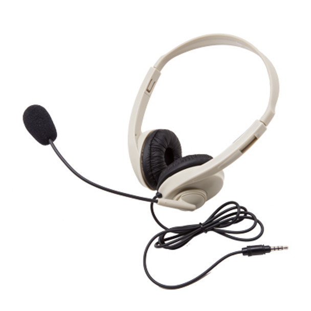 Califone 3064AVT Multimedia Stereo Headset with ToGo Plug