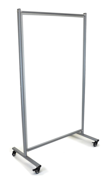 Luxor MD4072W Mobile Whiteboard Room Divider 42W x 75H