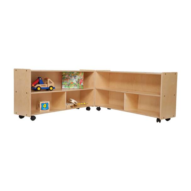 Wood Designs C12530F Contender Mobile Folding Versatile Storage Unit