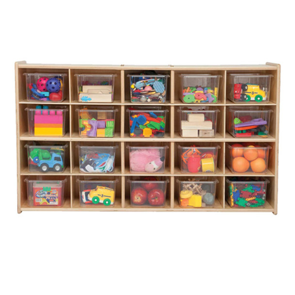 Wood Designs C14501 Contender 20 Tray Storage with Translucent Trays