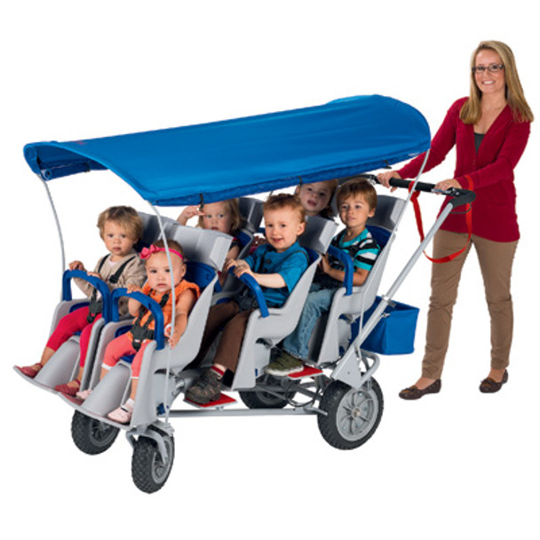 Angeles AFB6850F Runabout 6 Passenger Stroller