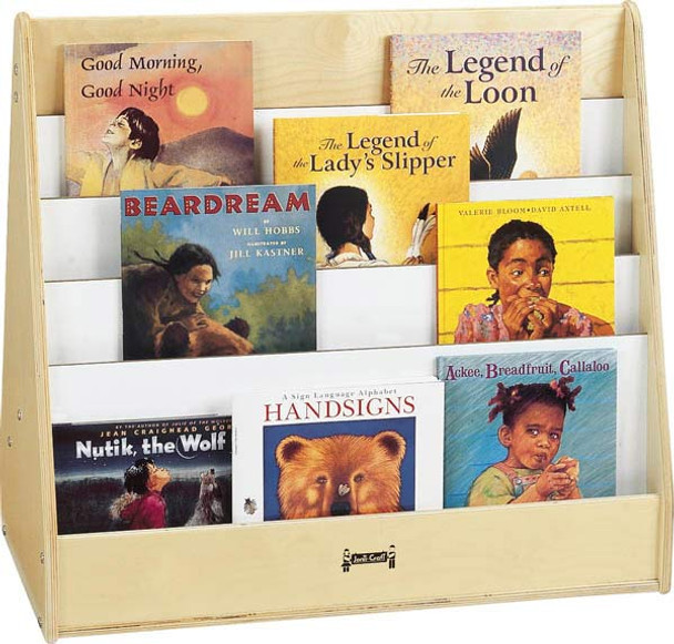 Jonti Craft 3508jc Pick A Book Stand 1 Sided Affordable Book Stand - Can-pick-the-book-quick