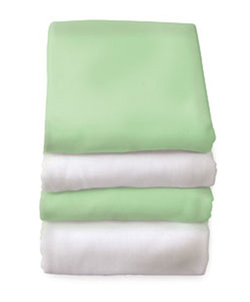FS-NF-XX-12 SafeFit Elastic Fitted Sheets for Compact Cribs 12 Pack