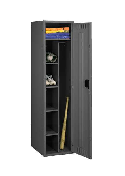 Tennsco CMS-242172-A Steel Combination Locker Assembled without Legs 24x21x72