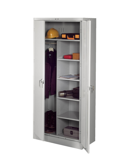 Tennsco 2472 Deluxe Combination Cabinet with 7 Openings 36x24x78