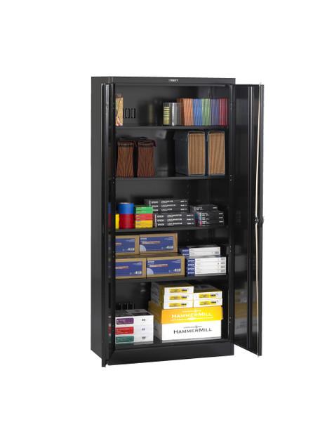 Tennsco 2470RH Deluxe Cabinet with Recessed Handle 36x24x78