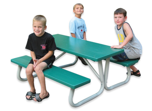 Southern Aluminum P2448L Children's Picnic Table 24 x 48