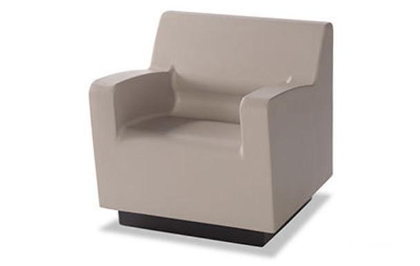 Norix Furniture HN800.HN850 Hondo Nuevo Arm 30 Inch Chair with Molded Plinth Base