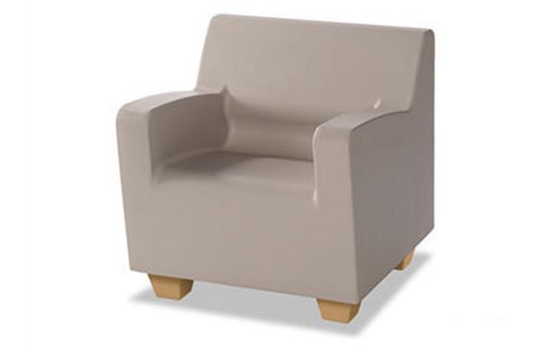 Norix Furniture HN800.HN860 Hondo Nuevo Arm 30 Inch Chair with Molded Wood Grain Legs
