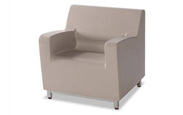 Norix Furniture HN800.HN855 Hondo Nuevo Arm 30 Inch Chair with Steel Base Legs