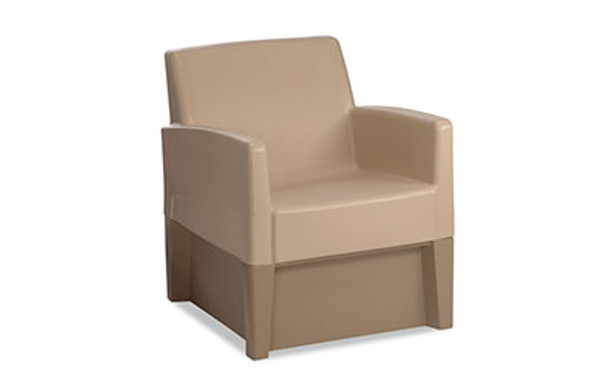 Norix Furniture FC620/FC660 Forté Lounge Arm Chair with Molded Base