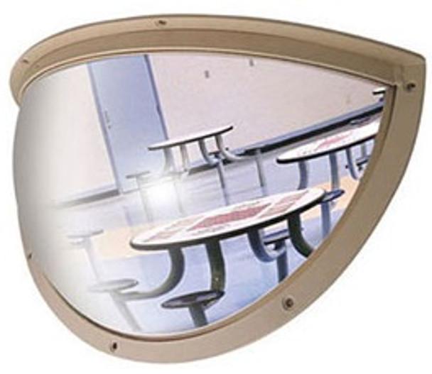 Norix Furniture HD18 Duravision 18x9 Half Dome Mirror