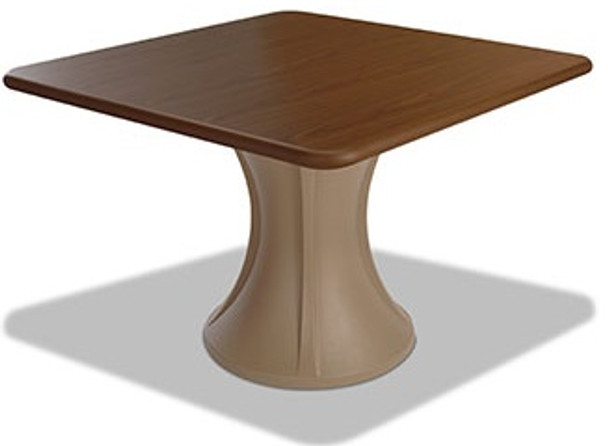 Norix Furniture FT620 Forte' Square Cafe Table with Laminate Top 42x42