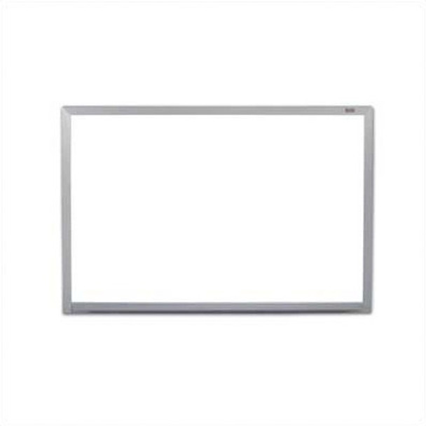 Marsh Industries PR516-1460-6100 Pro-Rite Magnetic Wall Mounted Whiteboard with Aluminum Trim 5 x 16
