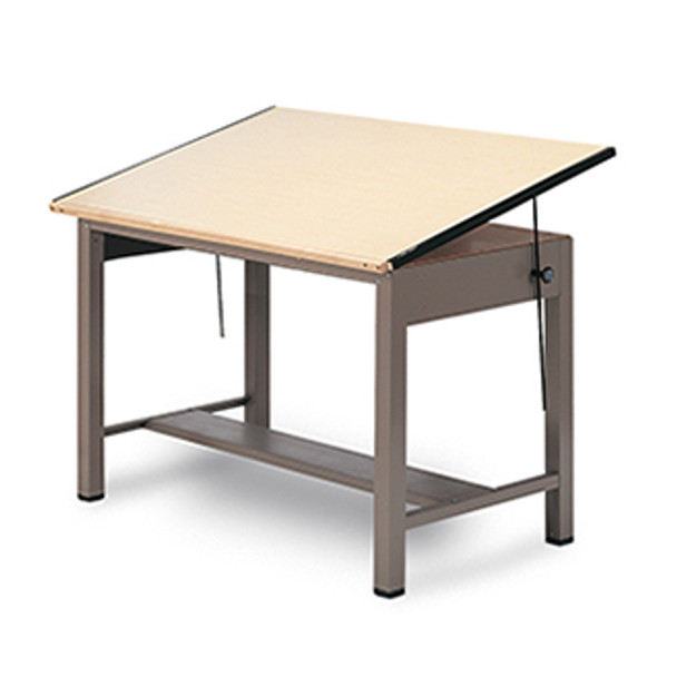 Safco 7734 Ranger Steel 4 Post Drafting Table 37 x 48
