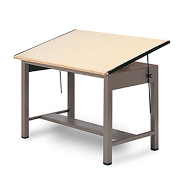 7738 Ranger Steel 4 Post Drafting Table 43 x 72