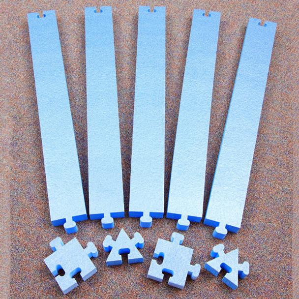 Everlast Climbing WK.BB.PuzzleLarge WeeKidz Puzzle Large Set of 5 Balance Beams