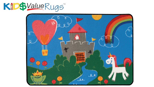 "Carpets for Kids 36.73 Fantasy Fun Rug  3' x 4' 6"""