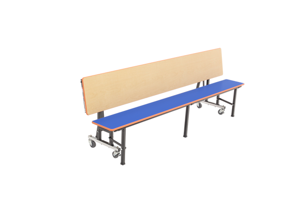 AmTab ACB6 All In One Mobile Convertible Bench Unit 6 Feet Long