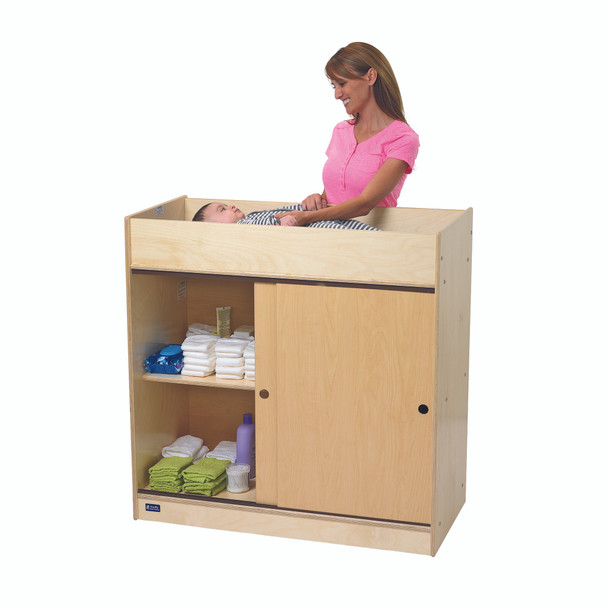 Steffy Wood ANG9039 Value Line Birch Changing Table