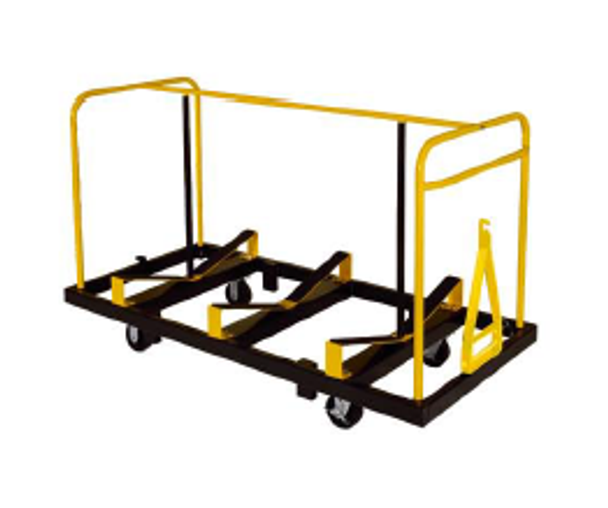 Midwest STT1872NS Upperzone Table Truck for 18 x 60 or 72 Inch Seminar Tables 18-20 Table Capacity