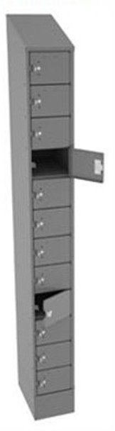 Tennsco CP12-091572-A Steel Cell Phone and Tablet Locker 12 Doors High 9 x 15