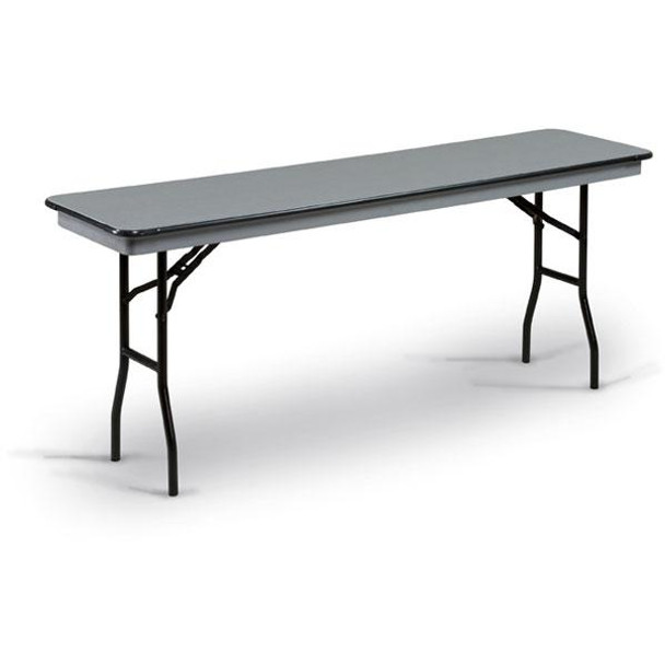 18 X 72 Folding Table.Midwest 618nlw Qs Standard Seminar Hexalite Folding Table 18 X 72 Quick Ship
