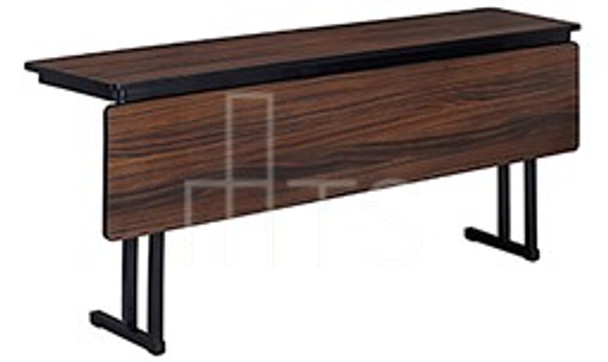 MTS Seating 415-1896-MOD Continuity Meeting Room Leg Folding Table With Modesty Panel 18 x 96
