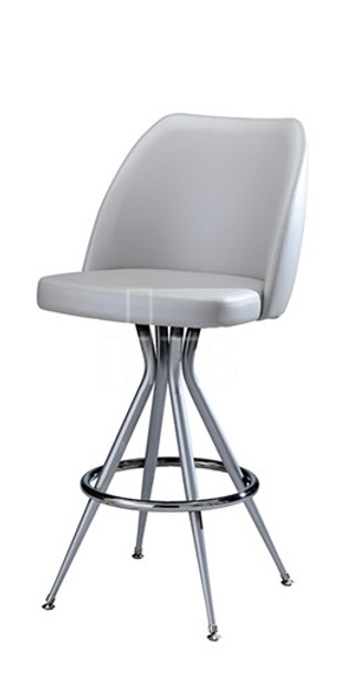MTS Seating 316-30-X Emma Swivel Guest Bar Stool 30 Inch Seat Height