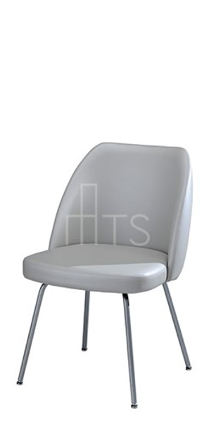 MTS Seating 8621-X Emma Bent Leg Guest Chair 18 Inch Seat Height