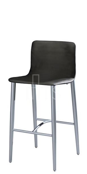 MTS Seating 8612-30-EM Lehto Mid Back Tapered Leg Bar Stool 30 Inch Seat Height