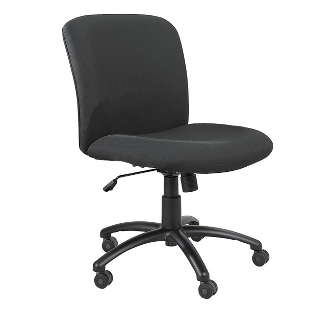 Safco 3491 Uber Big and Tall Mid Back Task Chair With Adjustable Height